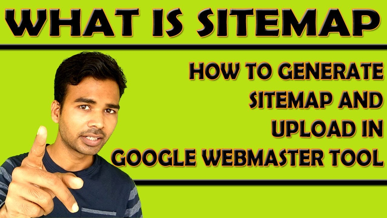 how to create sitemap of website
