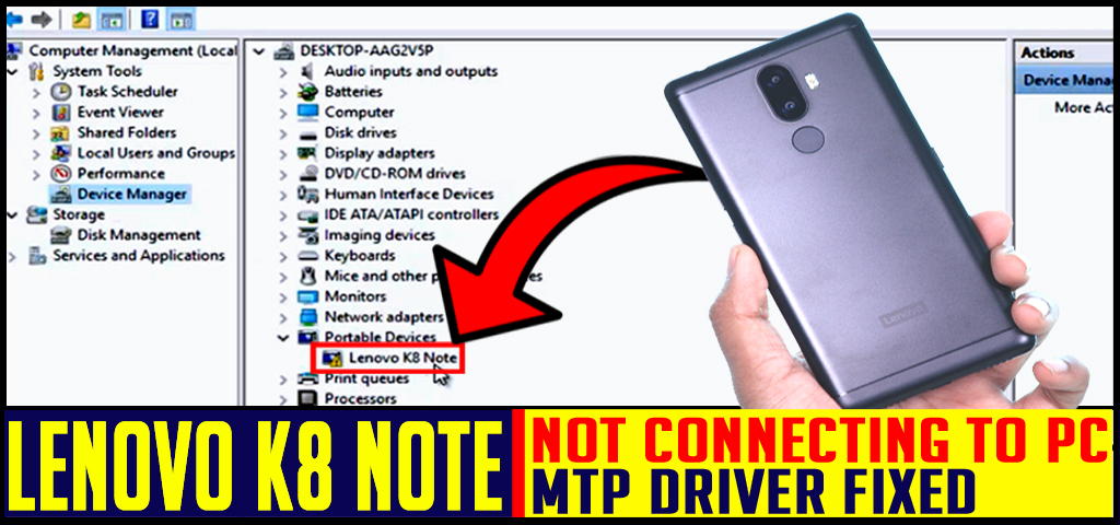 LENOVO K8 NOTE not connecting to PC   Fixed   LEARNABHI COM