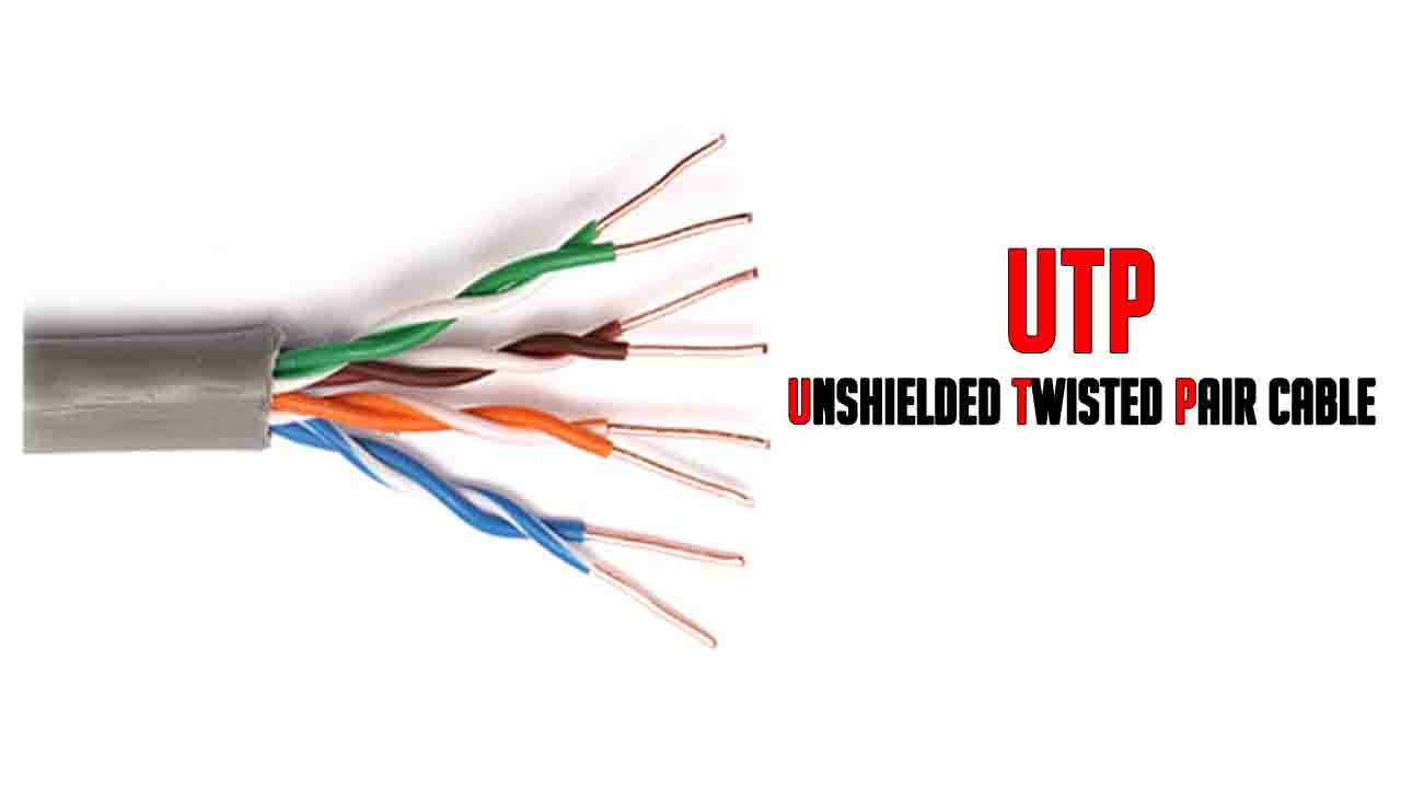What Is Utp Unshield Twisted Pair Cable Learnabhi Com