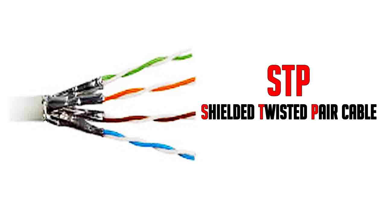 characteristics of twisted pair cable