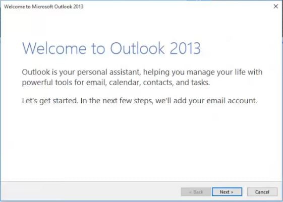 how to start gmail in outlook